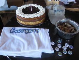 Foursquare® Birthday Party 2013