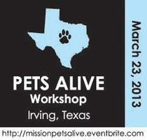 MISSION: PETS ALIVE! - Texas Workshop