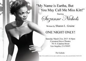 My Name Is Eartha, But You May Call Me Miss Kitt!