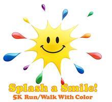 3rd Annual Splash A Smile Color Run/Walk