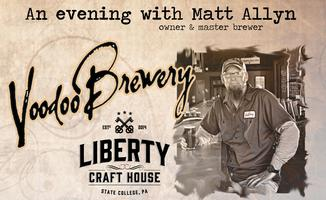 An Evening With  Matt Allyn | Voodoo Brewery
