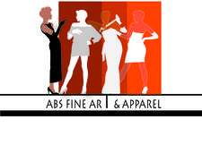 ABS Fine Art & Apparel logo