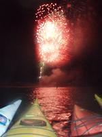 Paddle Board or Kayak to the Fireworks!