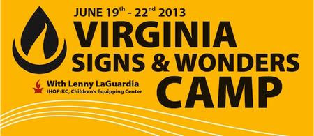 VA Signs & Wonders Camp 2013