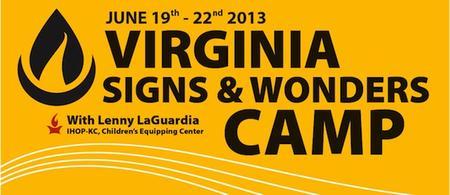 VA Signs & Wonders Camp 2013
