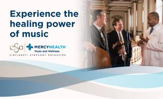 CSO & Mercy Health: Music & Wellness Program