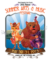 39th annual Summer Arts & Music Festival at Benbow Lake