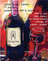 Civic Legal Corps 1st Annual Night for Art & Justice