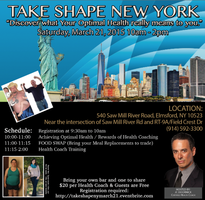 Take Shape New York - March 21st, 2015