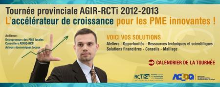 TOURNÉE AGIR-RCTi  Montréal 11 avril (ADRIQ)