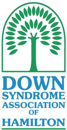 The Down Syndrome Association of Hamilton logo