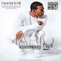 Mario LIVE (Fireball Tour) @ Fame Bar & Grill