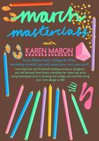 March Masterclass with Karen Mabon