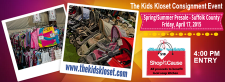 "The Kids Kloset Consignment Event - VIP ""Shop For A..."