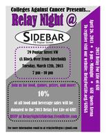 Relay Night at Sidebar Atlanta