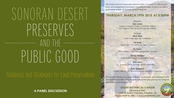 Sonoran Desert Preserves and the Public Good:...