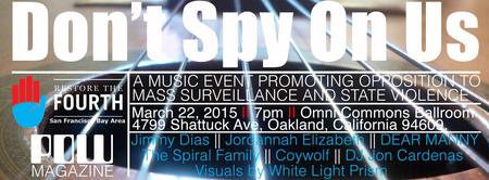 Don't Spy On Us