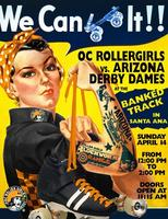 OC Roller Girls vs. Arizona Derby Dames- Banked Track
