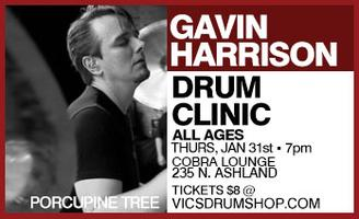 Gavin Harrison Drum Clinic