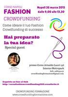 Come ideare il tuo Fashion Crowdfunding di successo