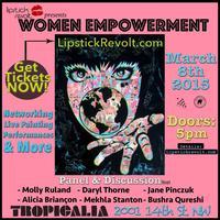 Lipstick Revolt: Women Empowerment