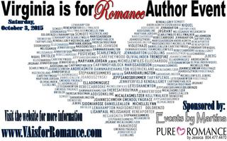 Virginia is for Romance Author Event