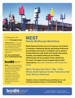 NEST: A Family Fundraiser Decorating Birdhouses for...