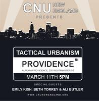 CNU New England Presents: Tactical Urbanism!