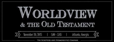 Scripture and Hermeneutics Seminar at SBL, 2015