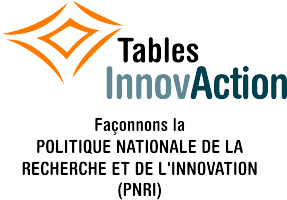 Tables InnovAction 2013 de l'ADRIQ