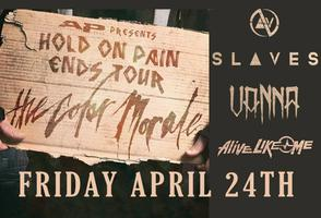 Hold On Pain Ends Tour w/ The Color Morale, Slaves,...