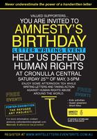 Amnesty's Birthday Letter Writing Event
