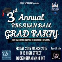 3rd Annual Pre Swan Ball Party