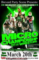 MICRO CHAMPIONSHIP WRESTLING at Sports Page in...