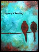 Sip N' Paint You go First Fri May 24th 6pm $30