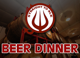 Straight to Ale Beer Dinner