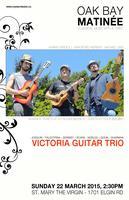 Oak Bay Matinée: Victoria Guitar Trio