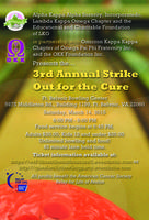 3rd Annual Strike Out For The Cure