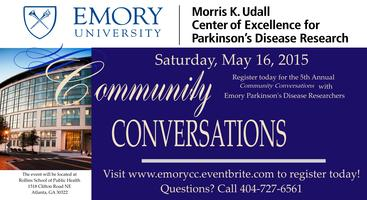Community Conversations with Emory Parkinson's Disease...