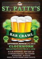 St. Patrick's Day Crawl Downtown