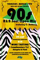 90s R&B and Soul Open Mic Feat. C. Anthony