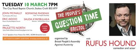 The People's Question Time Bristol