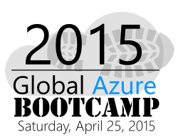 Global Azure Bootcamp Paris 2015