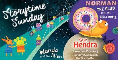 Sue Hendra's Storytime Sunday - with Norman the Slug &...
