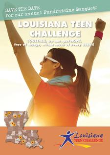 Louisiana Teen Challenge  logo