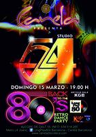 Inauguración Sesiones Tributo Studio 54