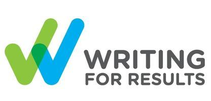 Writing for Results: Wellington, Monday, 12 August,...