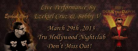Ezekiel Cruz Live With Bobby Valentino March 29th ,2013