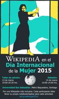 Wiki Celebración del día Internacional de la Mujer...