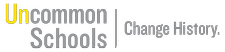 Hosted by Uncommon Schools logo